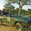 Guests in Safari Vehicle