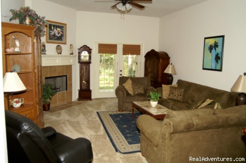 Living Room - Lake and Golf Course Home Just North of Houston TX