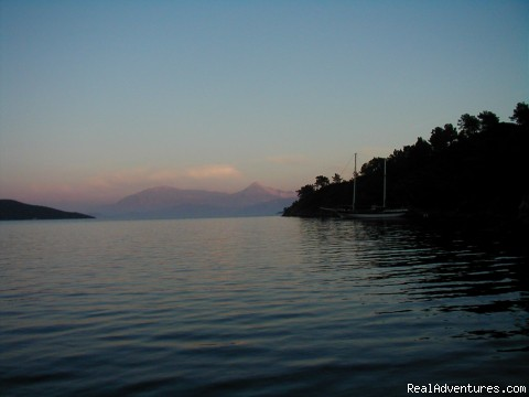 At Anchor in Fethiye Bay, Turkey - Sailing Charters Private or Share. Greece & Turkey