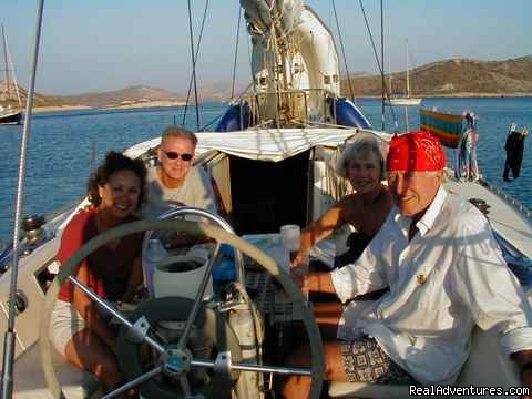 In The Cockpit - Sailing Charters Private or Share. Greece & Turkey