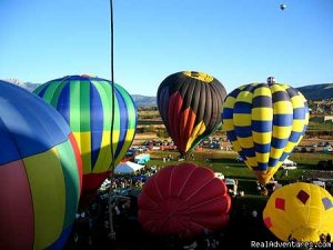 Utah's Hottest Adventure: Hot Air Ballooning Ballooning Salt Lake City, Utah