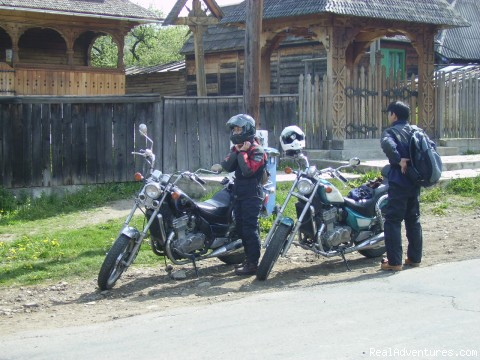 Transylvanian motorcycle touring professionals: