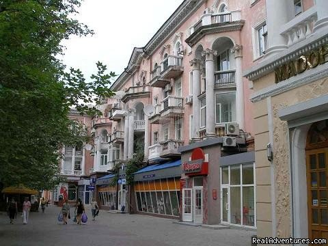 Luxury apartment in the heart of Nikolaev. Balcony overlooking Sovetskaya street. Recently renovated. Apartment has Internet connection, cable TV, phone, heating, air conditioning. Numerous restaurants, bars, shops, cafes are right on your doorstep.