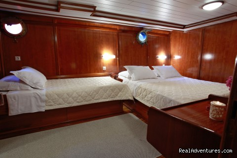 En-Suite Triple cabin (#9 of 24) - Sail The Adriatic Sea In Style.