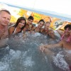 Jacuzzi party aboard Luna 2008