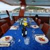 On deck dinning