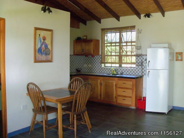 Kitchen in 3 - Relax in Nature at Sea Cliff Cottages