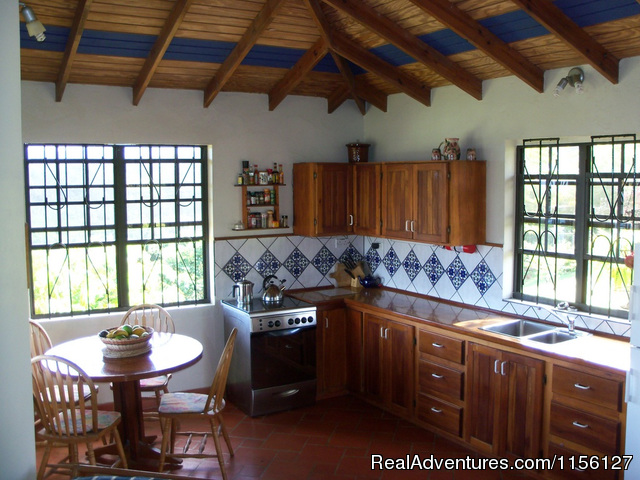 Kitchen in 4 - Relax in Nature at Sea Cliff Cottages