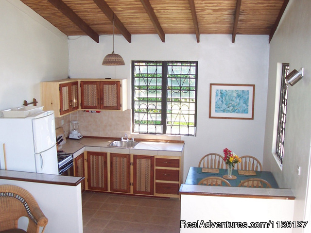Kitchen in Cottage 2 - Relax in Nature at Sea Cliff Cottages