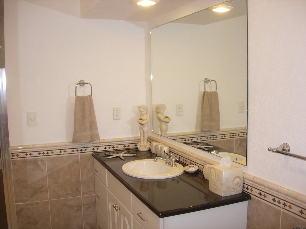 Guest Suite Bath | Image #14/14 | Brand New--Oceanfront--Five Star Condo