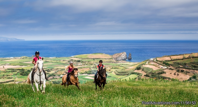 Exciting horse riding vacations at Quinta da Terca: Entrance