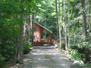 Romantic Getaway in TN Mountain Log Cabin Vacation Rentals Butler, Tennessee