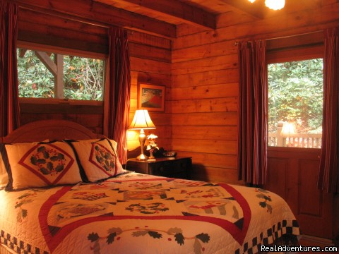 Comfortable and cozy - Romantic Getaway in TN Mountain Log Cabin