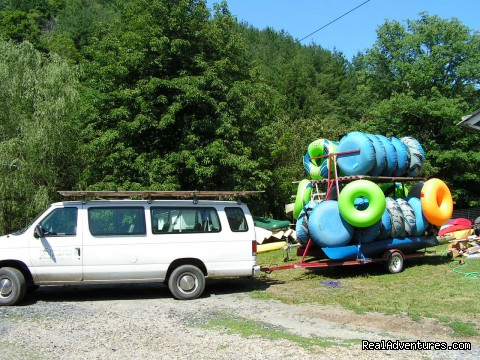 Tubes! - Have a New River Adventure at RiverGirl Fishing Co