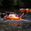 Tubing on the South Fork of the New River