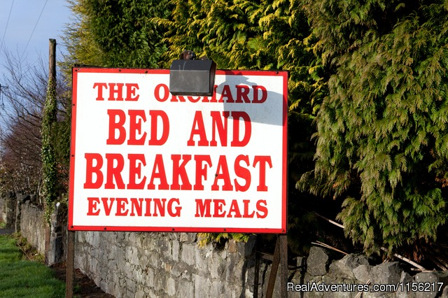 The Orchard Sign Post. - Family run Bed and Breakfast.