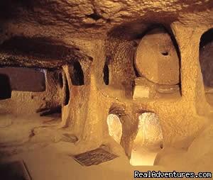 cappadocia underground cities - Cappadocia Tours From Istanbul