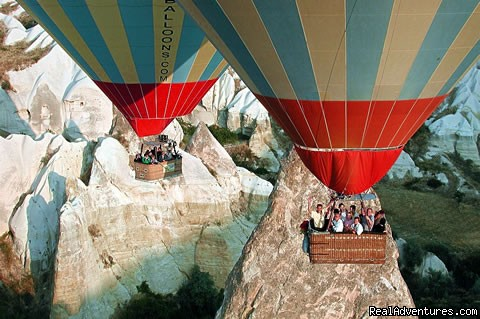 cappadocia hot air balloon flights - Cappadocia Tours From Istanbul