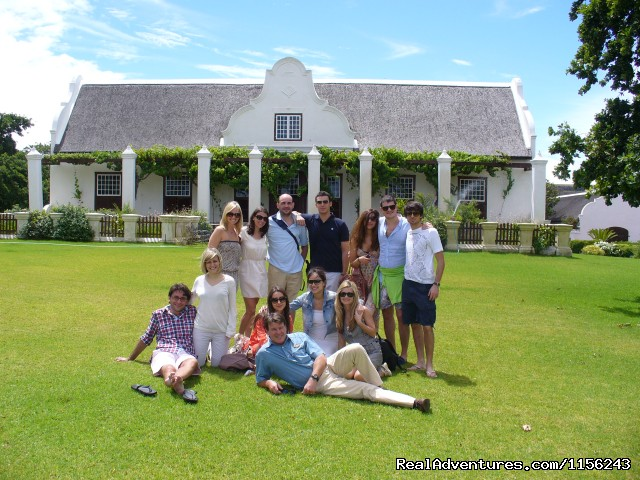 Meerlust  Manor House - Specialized Wine and Day Tours