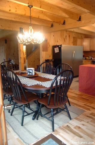 plenty of room to host many guests - Sebec Lake Lodge