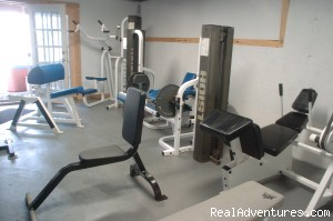 continue your workouts even during your retreat away - Sebec Lake Lodge