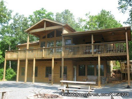 Cabin rentals in both the Blue Ridge GA and the Ocoee River areas.  Great fall scenery and tons of warm weather fun.  Rafting, hiking, biking, horseback, fishing, are all nearby from any of our cabins.  Give us a call for your next mountain getaway
