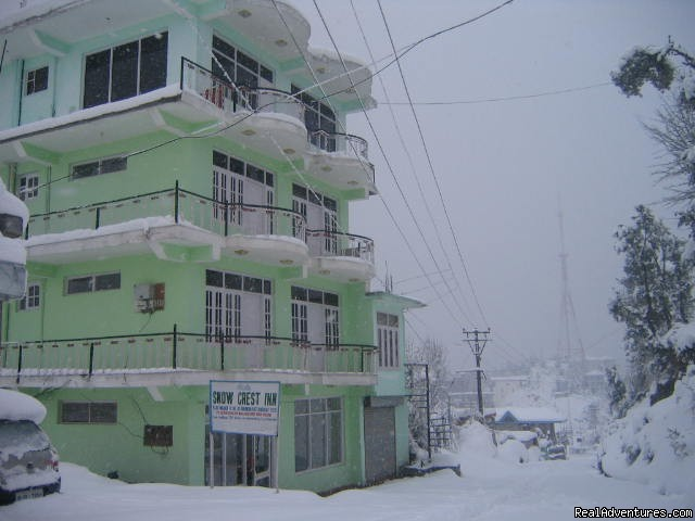 Snow Crest Inn Dharamsala in Winter