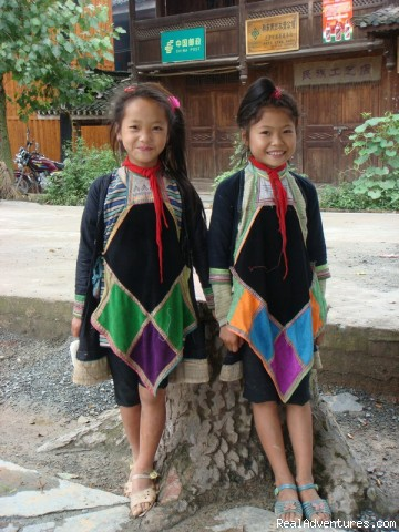 Miao Girls - Custom china tours, Yunnan tour, Tibet tour