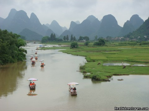 Li River in Guilin - Custom china tours, Yunnan tour, Tibet tour