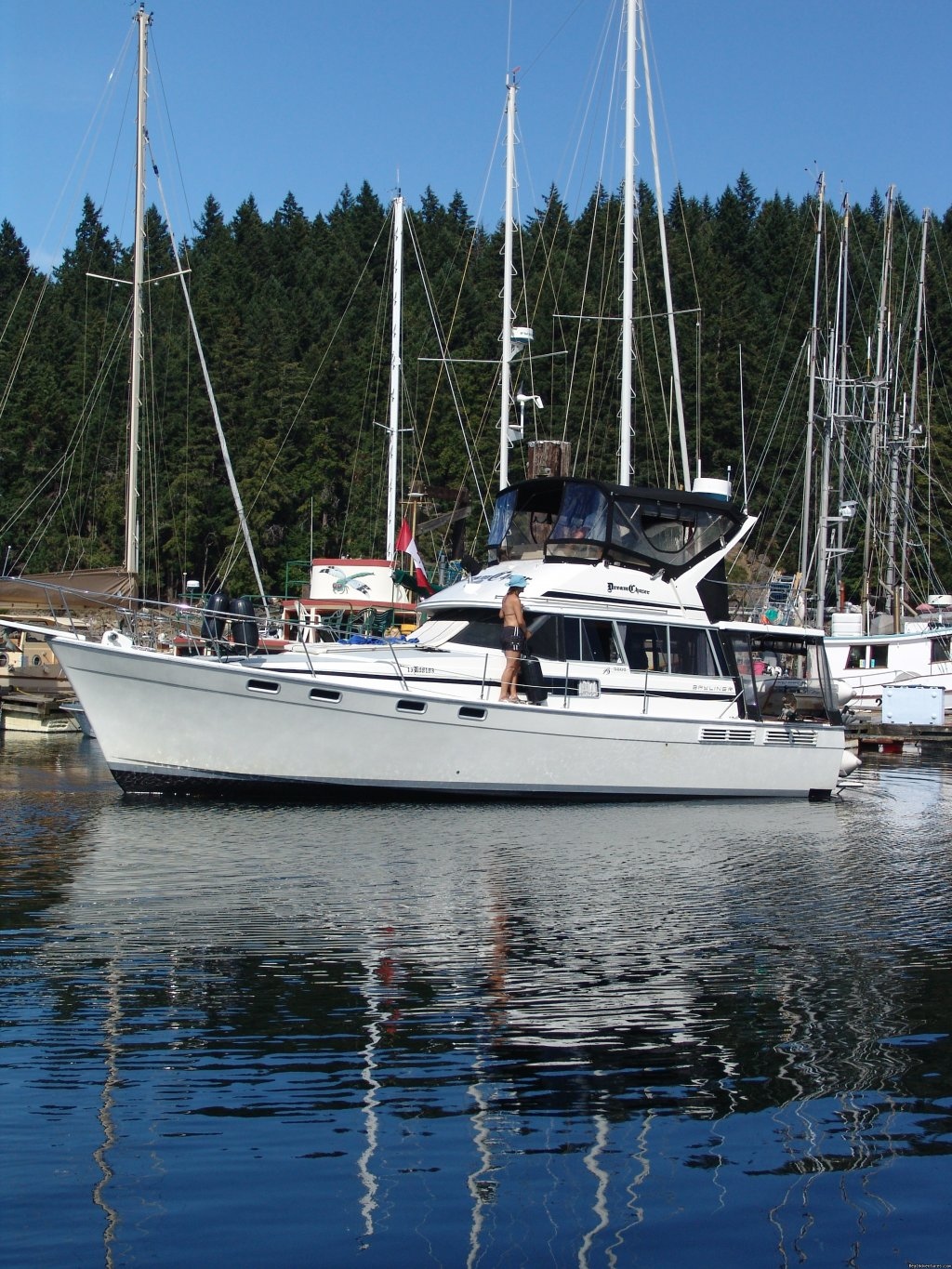 Image #2/3 | Bareboat yacht charters Pacific North West, Canada