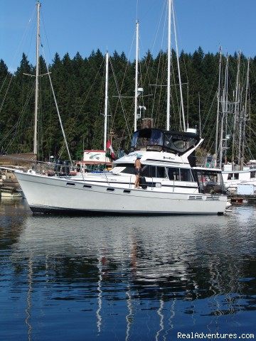 - Bareboat yacht charters Pacific North West, Canada