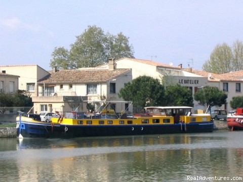 Luxury canal barge cruise in Provence Provence, France Cruises