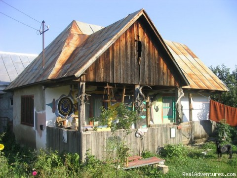Traditional Transilvanian house-Romania: The guesthouse ERR