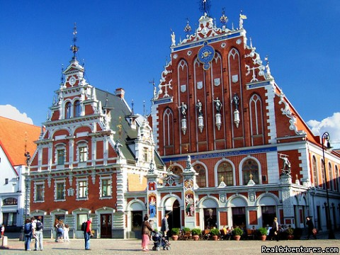 House of the Blackheads in Old Riga - Latvia Incoming Tour Operator grandbaltics.com