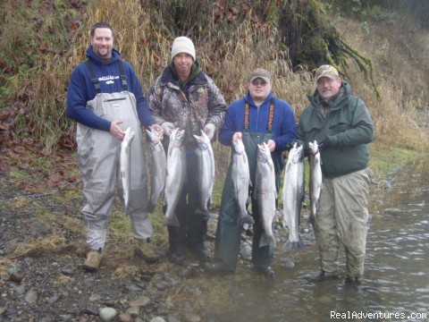Guided Sportfishing Trips for Salmon & Sturgeon: Cowlitz River Steelhead