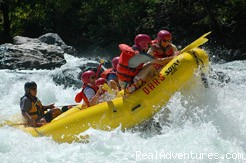 O.A.R.S. American River Rafting: Clavey Falls rapid on the Tuolumne River