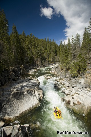 Big Trees Falls on the North Fork Stanislaus River (#2 of 15) - O.A.R.S. American River Rafting