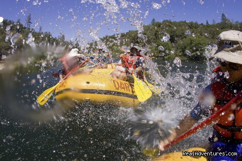 Water Fight on the South Fork - O.A.R.S. American River Rafting