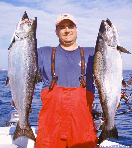 King Salmon - Sport-fishing trips on Lake Ontario/Niagara River