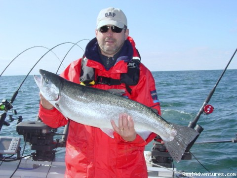 Steelhead - Sport-fishing trips on Lake Ontario/Niagara River