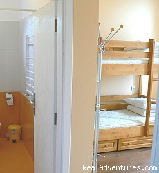 Our 1 or 2 bed private room (#3 of 4) - Hostel Plovdiv Guest