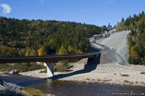 Mitchell Franklin Bridge at Big Salmon River (#5 of 6) - Fundy Trail