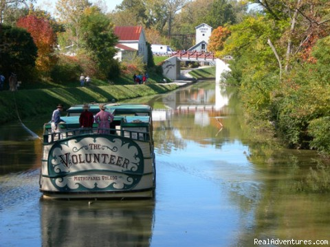 Authentic Canal boat ride - The Housley House B&B is The Cream Of The Crop