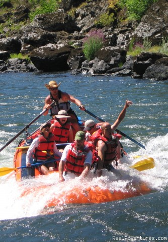 Whitewater Rafting Family Adventure