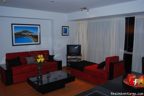 Living (#6 of 8) - Rent Brand new Apartment with Ocean View in Lima