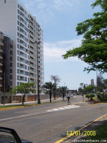 The building - Rent Brand new Apartment with Ocean View in Lima