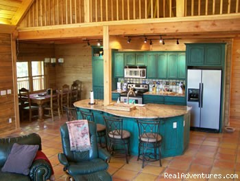 Talako Dining area (#2 of 3) - Economy to Luxury Cabins