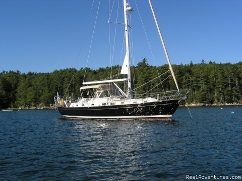 Civil Twilight, 2004 Passport 470CC - Twilight Charters, Maine and Bahamas Sail Charters