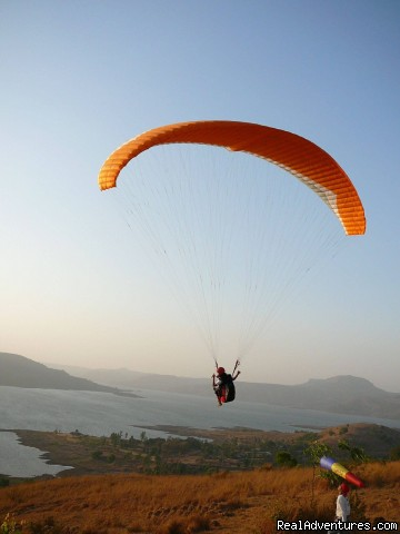 Fun and Flying!!! Paragliding Kamshet, India