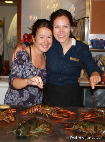 Learning about fresh lobster - Renowned culinary vacations in Nova Scotia, Canada